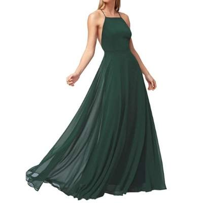 Evening Gown Cocktail Wedding Bridesmaid Dress