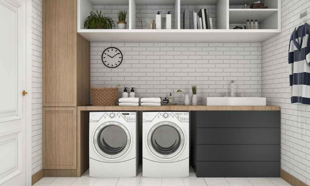 How to create space in your laundry room