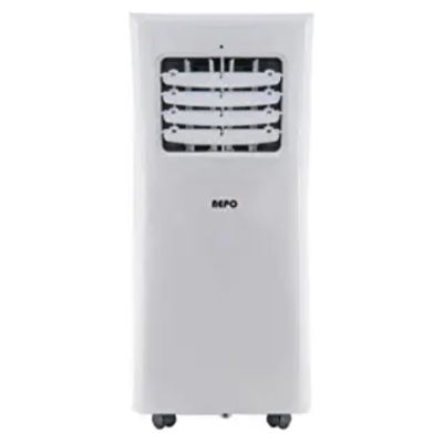 Stream of cooling airflow in Summer NEPO NPP-O110C Portable Air Condition