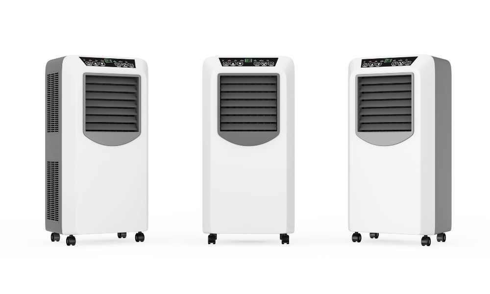 clean a portable air conditioner
